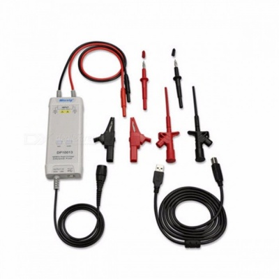 Micsig Oscilloscope Probe Accessories Parts 1300V 100MHz High Voltage Differential Probe Kit 3.5ns Rise Time  colorful