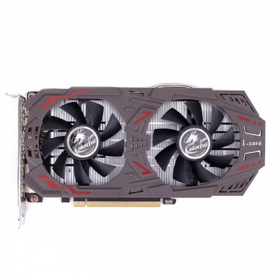 COLORFUL GeForce GTX1060 Graphics Card 6GD5 1506-1708MHz PCI-E X16(3.0) 2xDVI+HDMI+DP Video Card 2 Fans GTX1060-6GD5 GAMING V5 black
