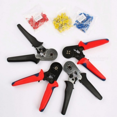 FASEN HSC8 6-4 HSC8 6-6 Self-Adjustble Durable Mini Type Carbon Steel 0.25-6mm Crimping Plier Hand Tool HSC8 6 6B