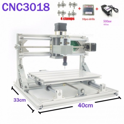 CNC 3018 ER GRBL Control DIY CNC Machine, 3 Axis Pcb Milling Machine, Wood Router Laser Engraving Best Toys cnc3018 5500mw laser