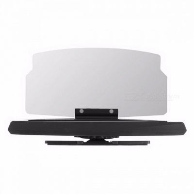 Car Windscreen Projector HUD Head Up Display Universal Mobile Phone Holder Multifunction 6.5 Inch For IPHONE, Samsung GPS ABS
