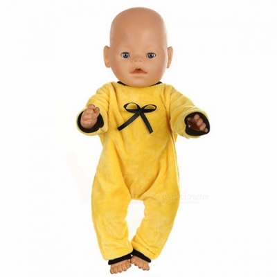 Cute Jackets and Jumpers Rompers Baby Born Doll Clothes, Fit 43cm Zapf Baby Born Doll, Children Birthday Gifts Pink (541)