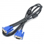SIXCLOVER VGA HD 15 Pin Male to Male Connection Cable (1.5m-Length)