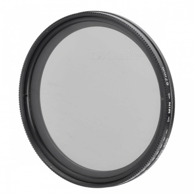 Neutral Density ND2-ND400 Fader ND Filter (67mm)