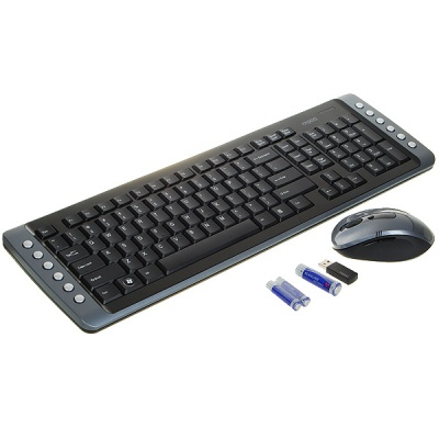 Rapoo 8100 10-Meter Wireless Desktop (Keyboard and Mouse Set)