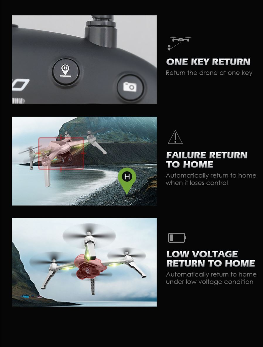 Helicopters - JJRC JJPRO X5 EPIK 5G Wi-Fi 1080P FHD FPV One-Axis