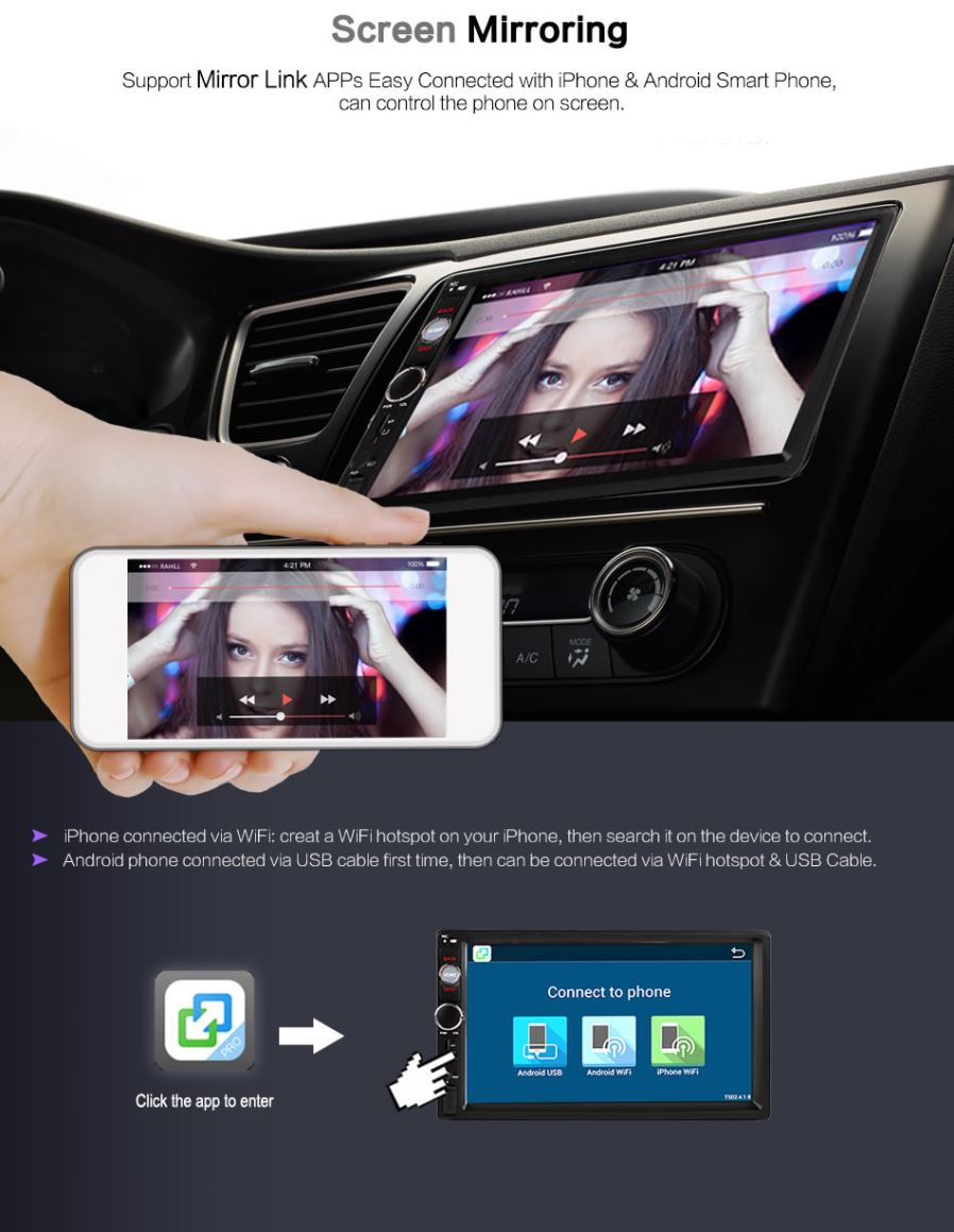 Ownice G10 Android 6 0 GPS Navigation 1G RAM DVD 2 Din Car Radio BT USB for  Universal Player Suppor