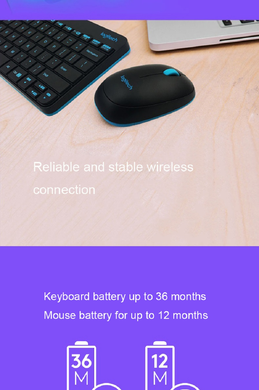 Logitech Mk245 Nano 79 Key Wireless Keyboard W 1000dpi Mouse Free And Combo Hk 3800 Veobecn