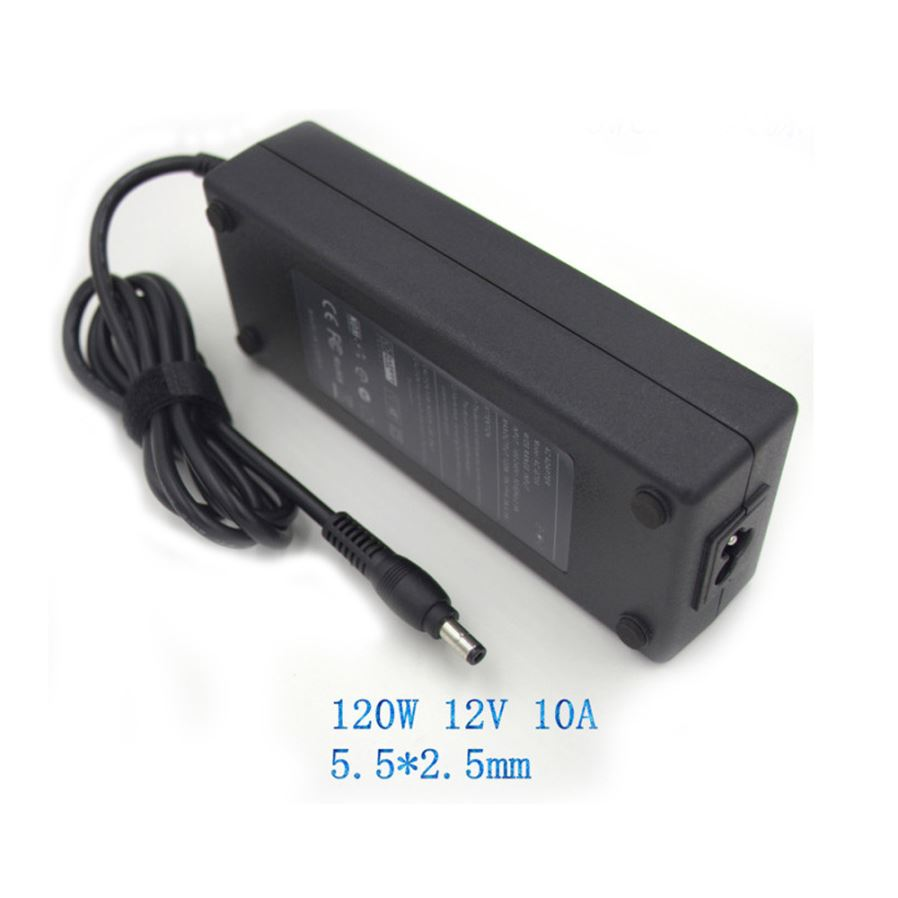 Adapters 12v10a Power Adapter 120w Interface 55x25 Port Monitor Short Circuit Protection To Your Supply 1 Output Overload Overvoltage 2 Completely Solve The Problem Of Insufficient 3 Can Better Protect