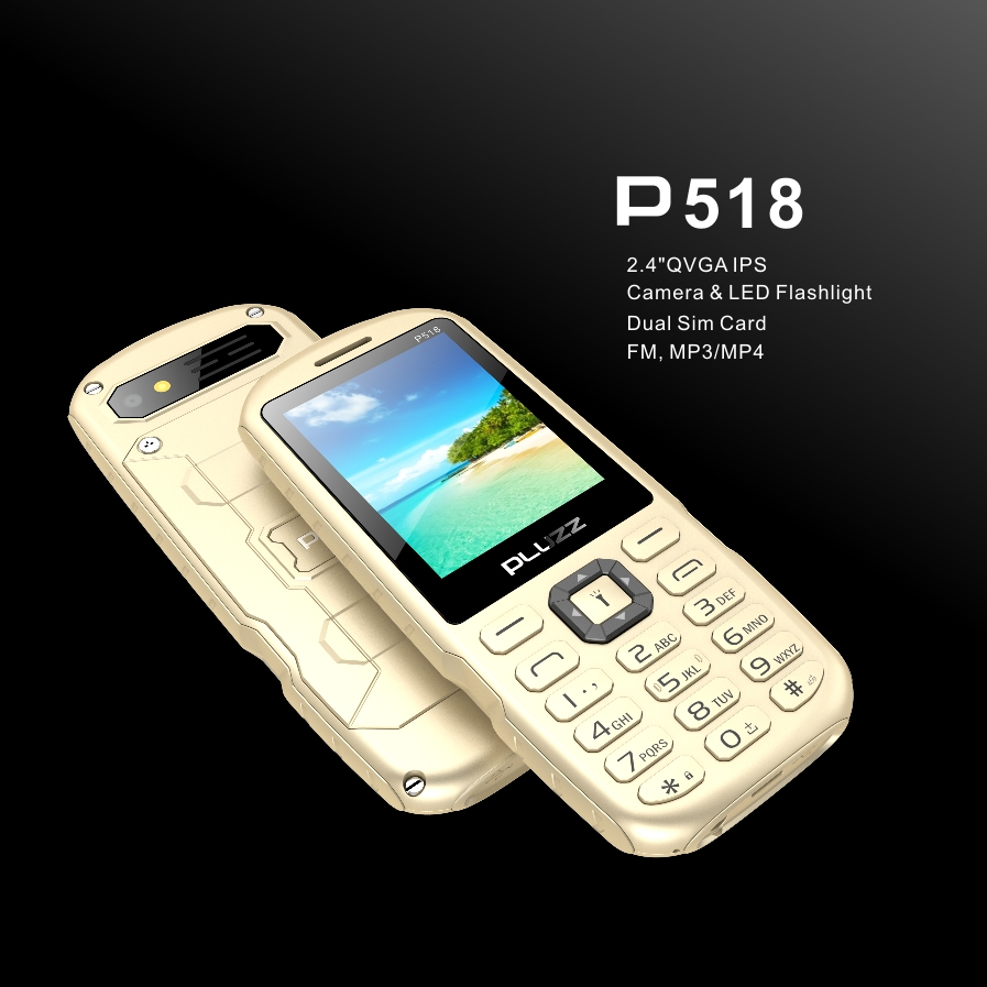 Pluzz P518 24 Inches Screen Metal Battery Cover Dual Sim Feature Line Bb9800 Short Circuit For Repair Gsmforum Inch Phone 1 Qvga Ips See Clearly 2 Precision Design Dropproof 3