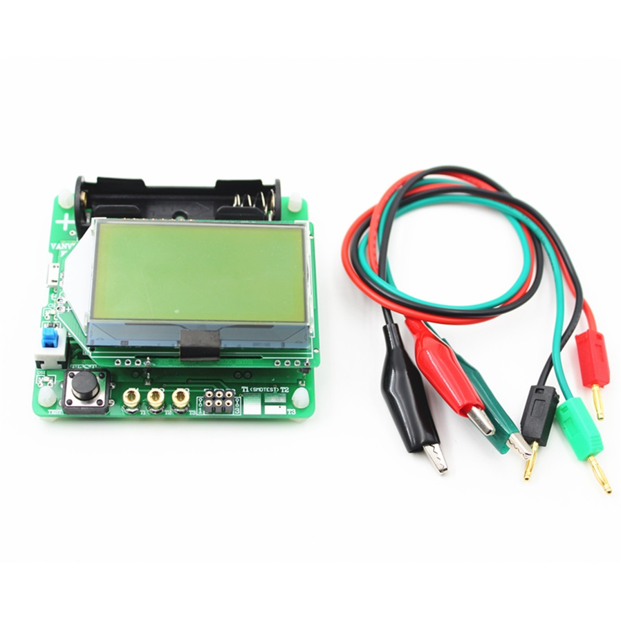 Other Tools Mg328 Diy 37v Inductor Capacitor Version Esr Meter Thyristor Tester But Some Current Higher Than The Semiconductor Scr And Triac Can Provide Trigger Available Test Is Only About 6ma