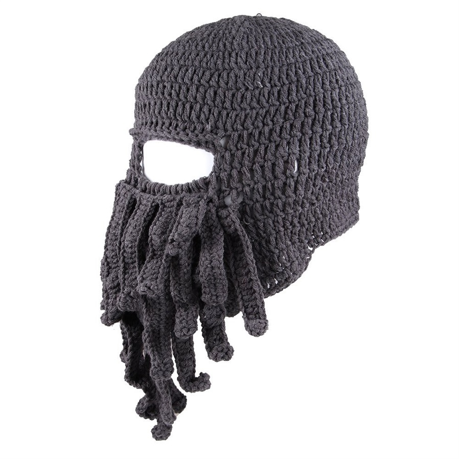 Hats & Caps - To Son\'s Gift Funny Tentacle Octopus Cthulhu Knit ...