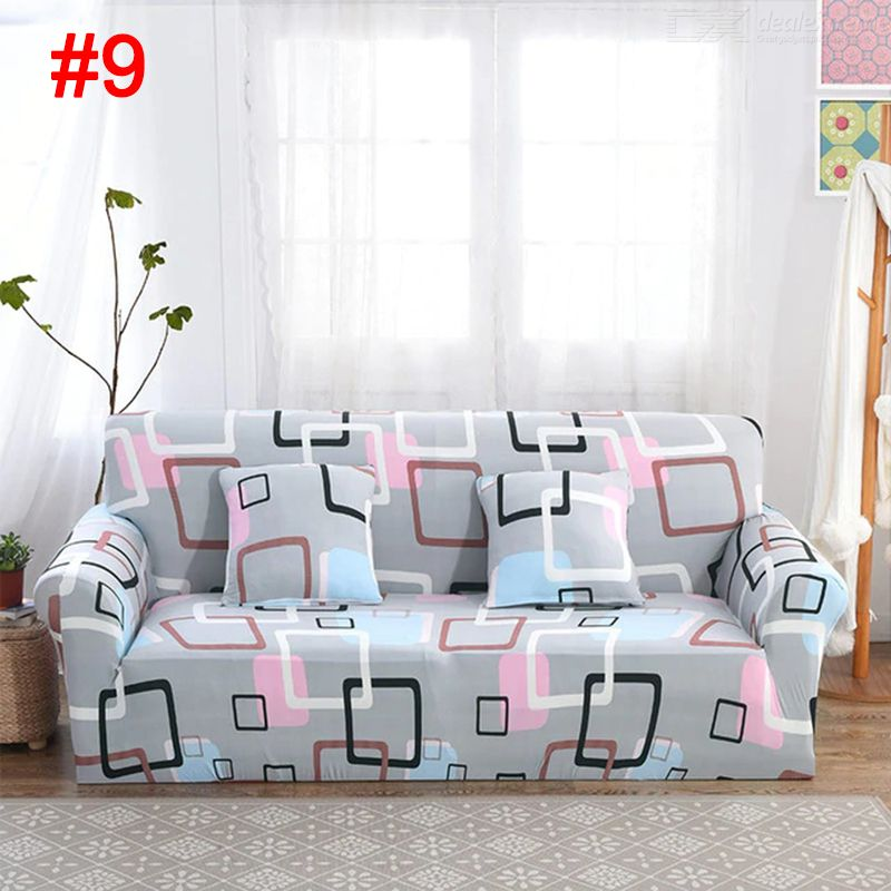 Sofa-slipcovers Tight Wrap All-inclusive Slip-resistant Elastic ...