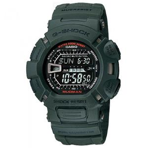 Casio G-Shock G-9000-3V Mudman Digital Watch - Black + Green