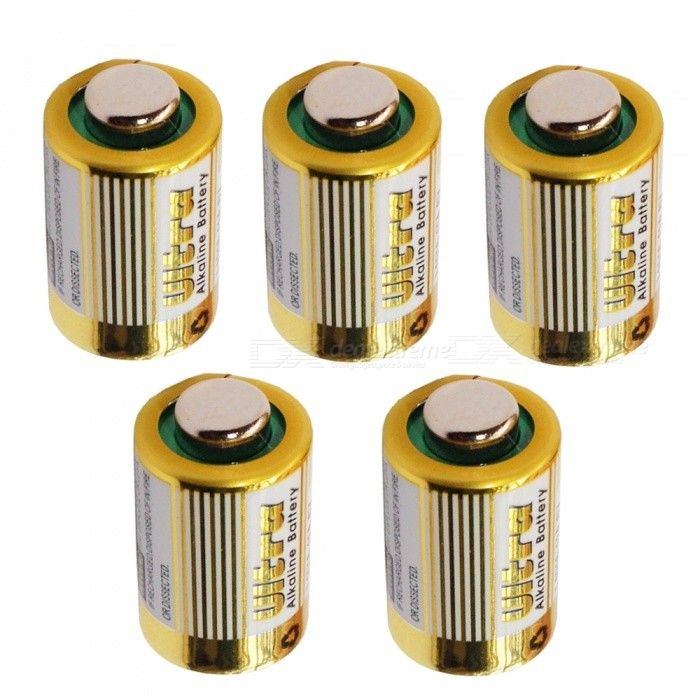 5Pcs L828 Alkaline Batteries for Motor Car Remote Control Access Control Hanging Lamp Flip Pen Code Table Lighter Gold