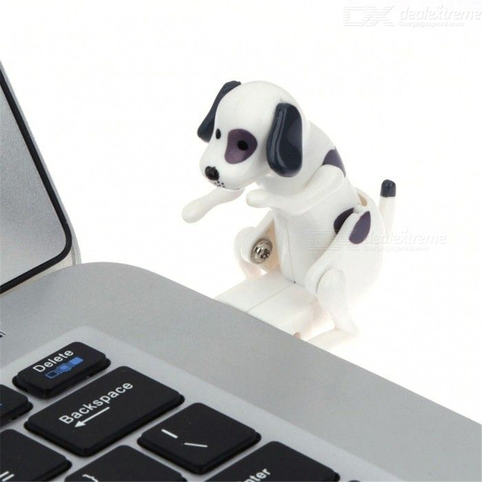 Maikou USB 2.0 Funny Humping Spot Rascal Dog, Pressure Relief Toy for Office Worker Best Gift