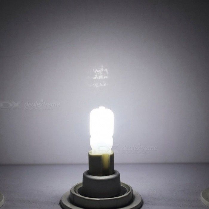 JRLED G9 3W 14-SMD 2835 LED Cold White Dimmable Bulb Lamp (220V / 10 PCS)-3W Clear Bulb