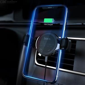 Hoco S1 Universal Multi Fuction Car Phone Mount, Wireless Charging Station For Car