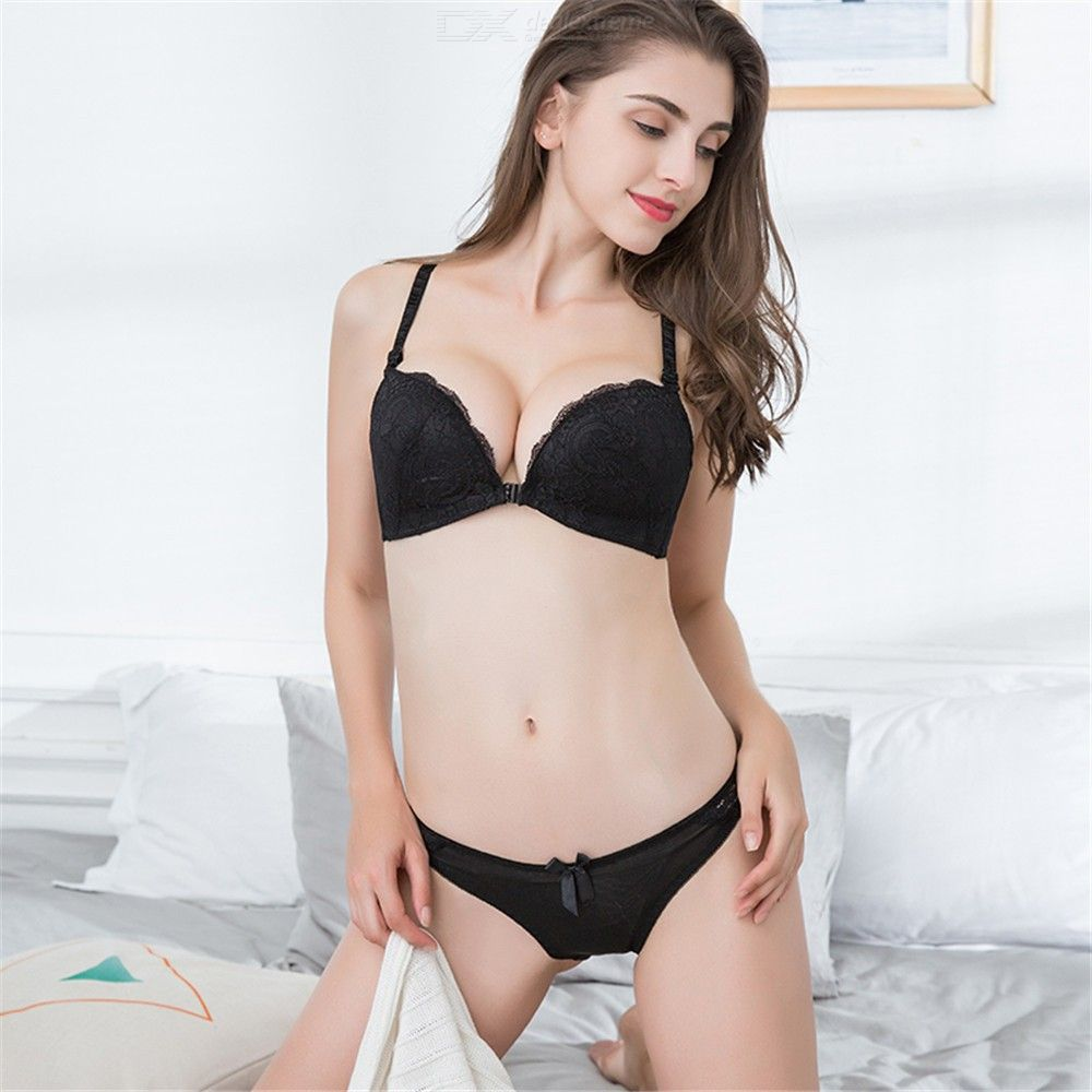 6b73967ef4247 ... Womens Wireless Floral Lace Supportive Bra
