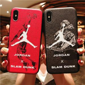 Creative 6 Inch Slam Dunk Impact-resistant Cell Phone Case For IPHONE XS/IPHONE XS MAX/IPHONE X