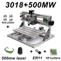 CNC3018-DIY-Laser-Engraving-PCB-Milling-Machine-Wood-Carving-Router(with-ER112b10Pcs-Cutters2b500mw-Laser2bProtect-Glass)