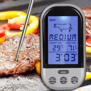 TS-BN52 Multi Function Wireless Food Grill Thermometer W/1PC Temperature Sensor Bar