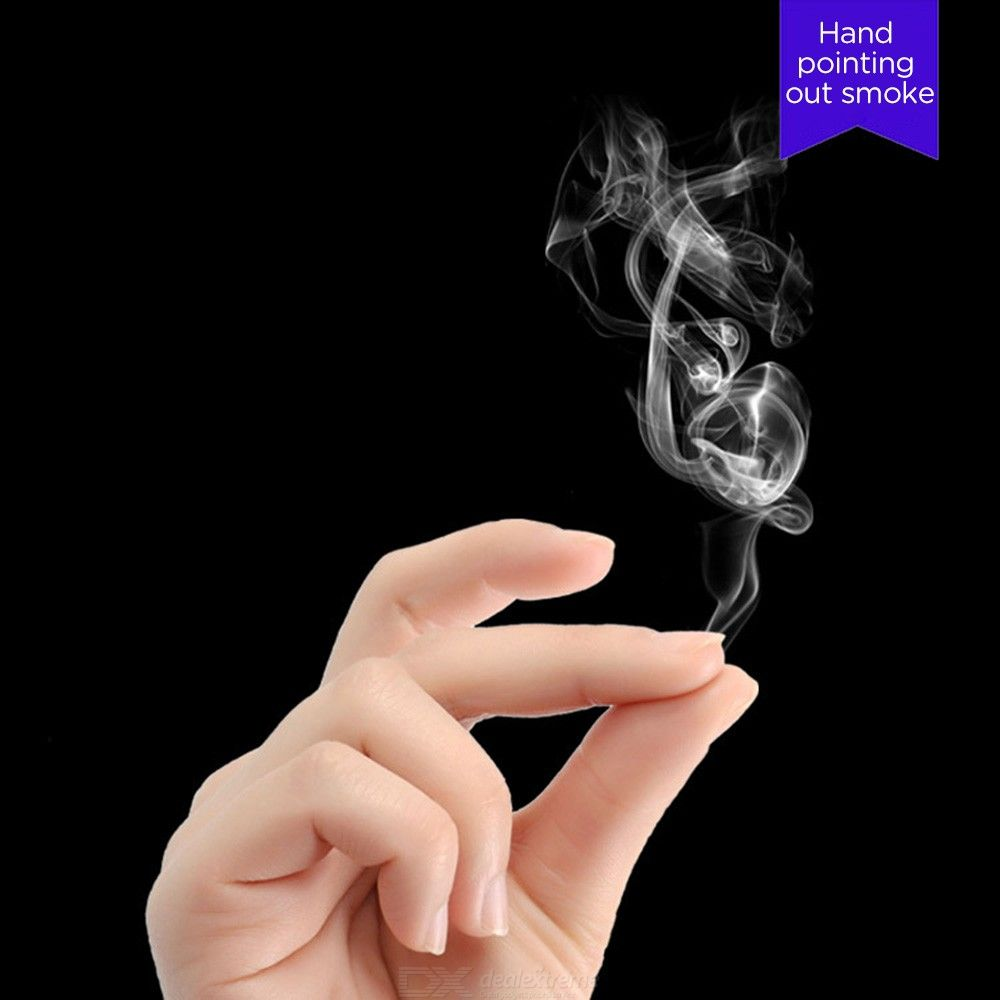 Funny Mysterious Magic Trick Props Hand Rub Smoke Empty Out Of Smog Super Cool Play Magic Toy 10*7cm With Manaul