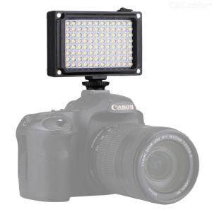 PULUZ 96LED 5600K Mini Quality Portable Video Light Intergrated Fill Lighting For Phones Digital Camera Super Bright