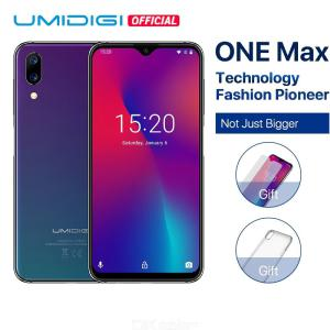 UMIDIGI One Max Global Version 4GB 128GB 6.3inch  Water Drop Full-Screen 4150mAh Dual SIM Smartphone Wireless Charging