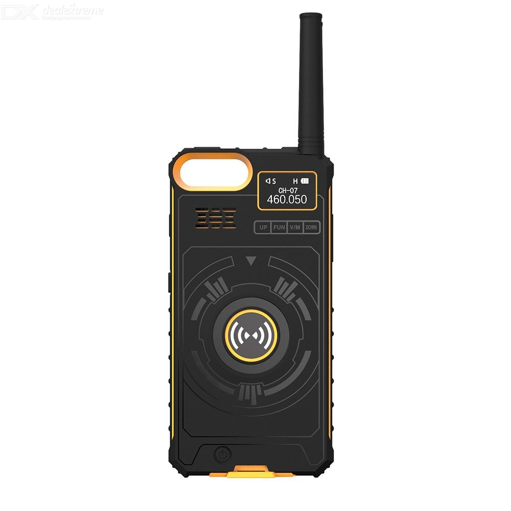 NO1 IP01 Multi Functional Wireless Portable Handheld Walkie Talkies - 4.7 Inch