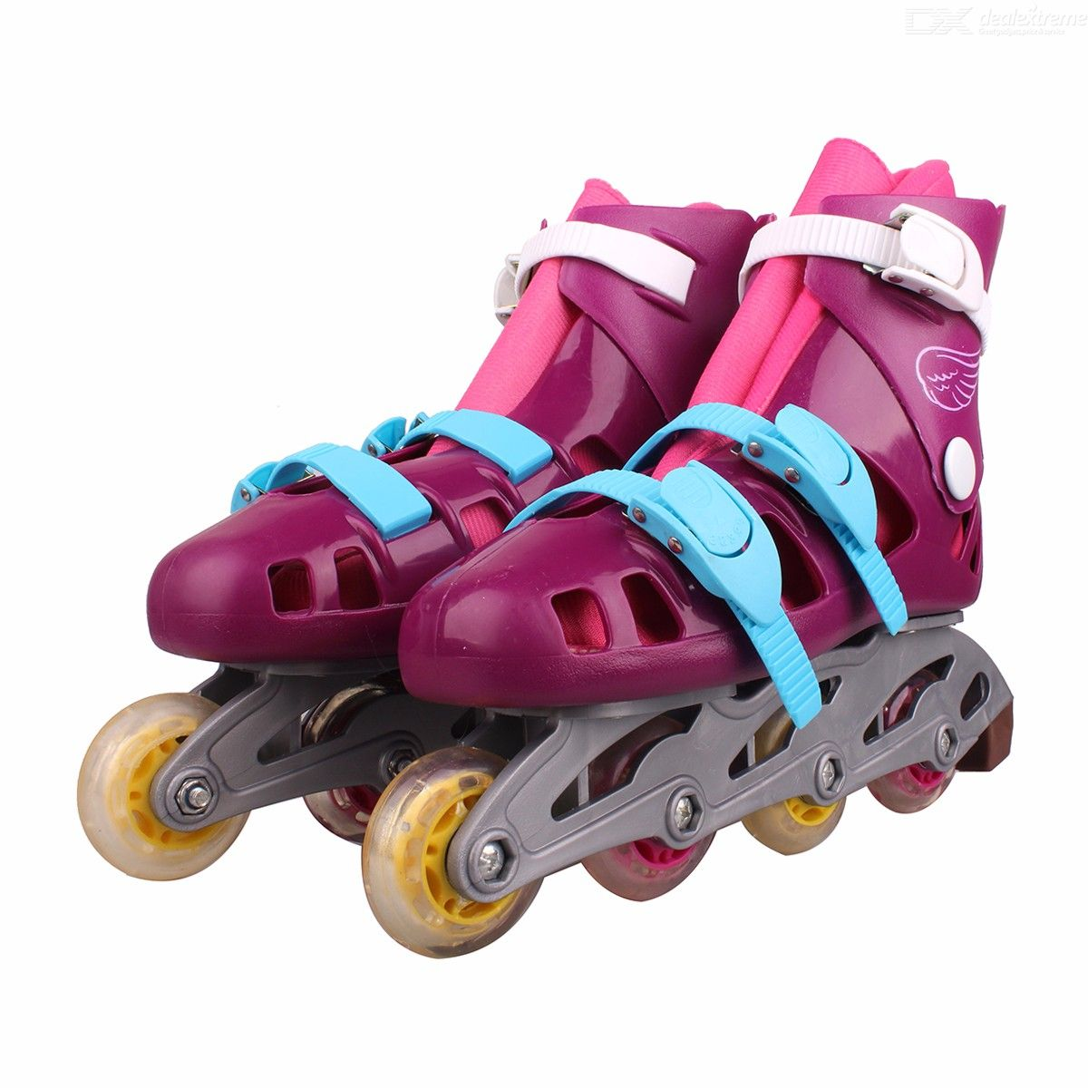 Disney-Soy-Luna-Patines-Girls-Two-tone-Roller-Skate-Shoes-Talla-36