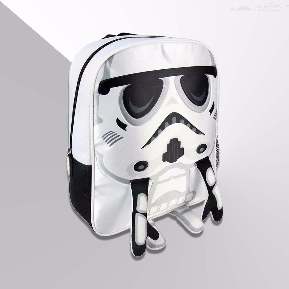 Disney Character 3D Star Wars Printing Backpack For Kids Girls Boys School Bag With Air Cushion Belt