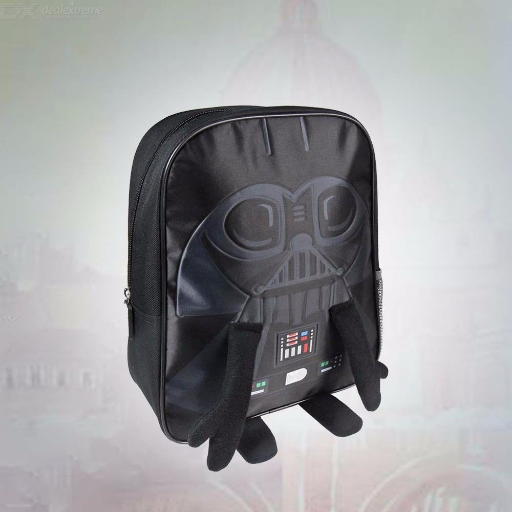 Disney Character 3D Star Wars Backpack For Kids Girls Boys School Bag With Air Cushion Belt
