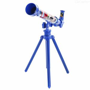 Disney Mickey Mouse Original 30mm Travel Telescope For Kids, Mickey Mouse Cartoon Educational Toy For Children
