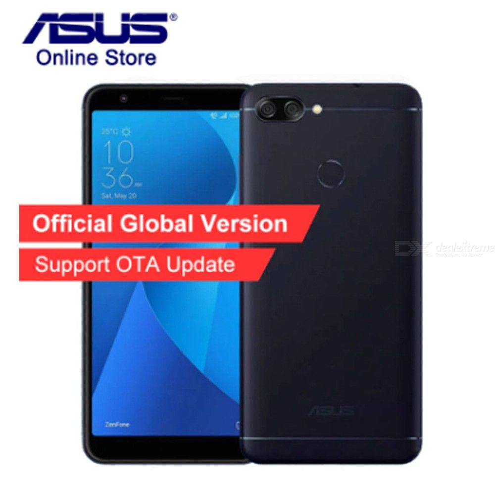 Global Version ASUS ZenFone Max Plus M1 ZB57TL X018D 4G Smartphone 3GB 32GB 5.7 Inch Full Screen Android Mobile Phone