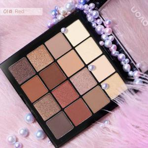 16 Colors Make Up Matte Shimmer Eye Shadow Girls Daily Makeup Plate