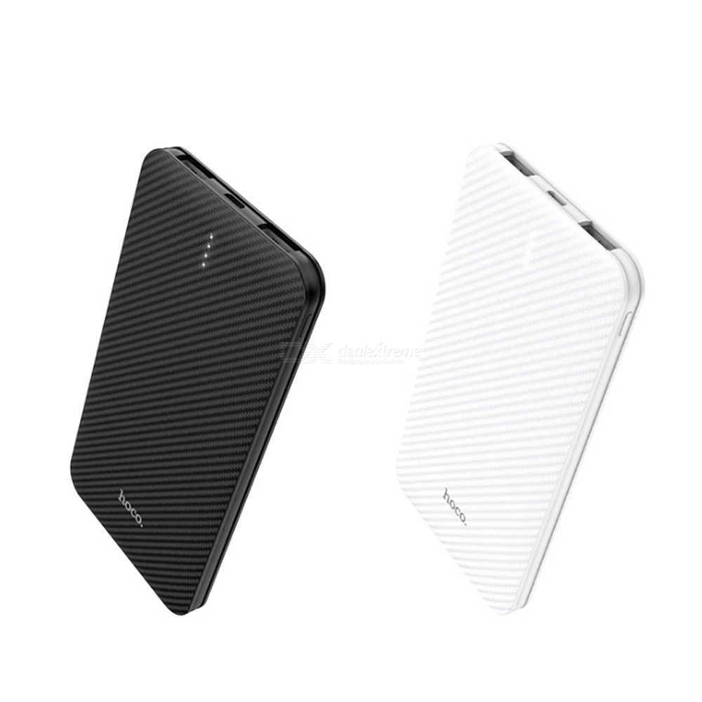 Hoco B37 Portable 5,000 MAH Fast Charging Power Bank, Universal Lightweight Dual-port Portable Charger