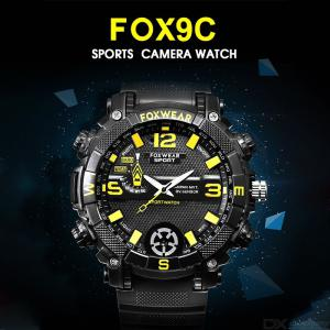 FOX 9C Smart Watch Camera, 32GB HD 720P Spy Camera DVR Watch