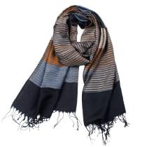 New-Winter-Mens-Double-Striped-Cashmere-Scarf-Men-High-Quality-Tassel-Scarves