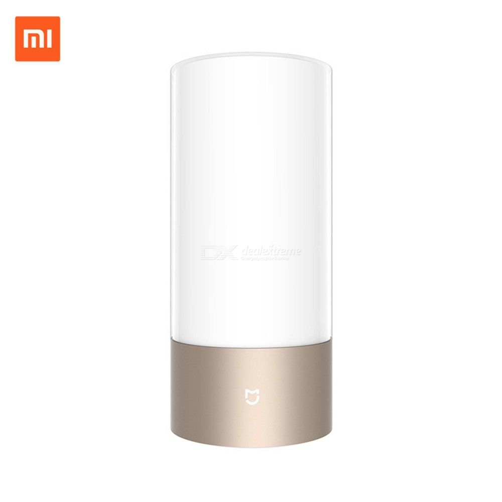 Xiaomi Mijia 221mm X 100mm 10W Touch Control LED Bedside Lamp W/1 PC Power Adapter