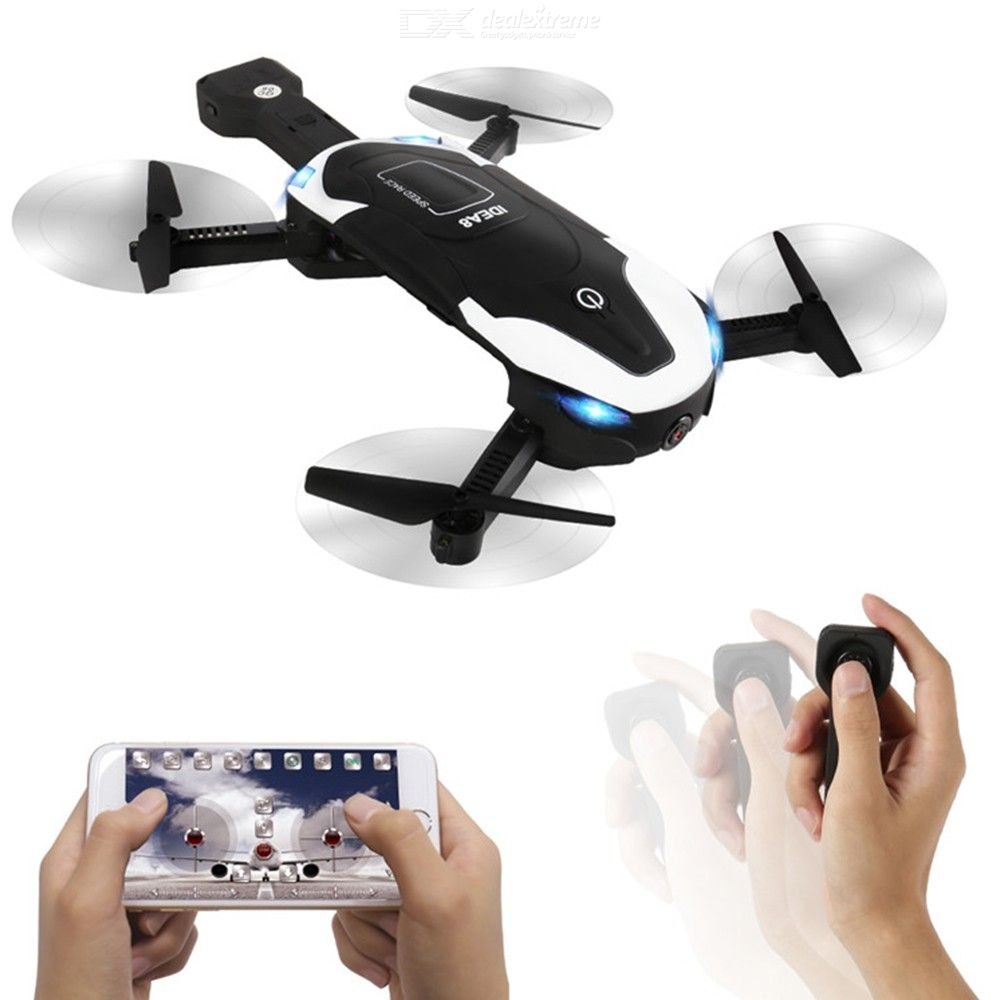 Le Idea8 GPS Wifi Aerial Camera Gravity Sensor Foldable Quadcopter RC Airplane Flying Helicopter