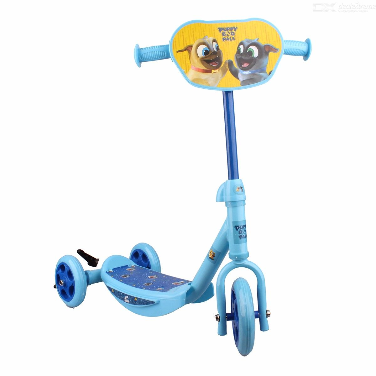 Disney-Puppy-Dog-Pals-Mini-Scooter-For-Kids-Childrens-Cartoon-Scooter-W1-PC-Assembling-Set