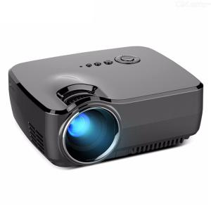 SKY GP70 Portable Mini LED Cinema Video Digital HD Home Theater Projector Beamer Projector With USB HDMI Black