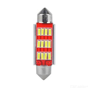 4Pcs High Quality C5W C10W 4014 LED CANBUS Car Festoon Lights, 12V White Auto Interior Dome Lamp Reading Bulb  41mm