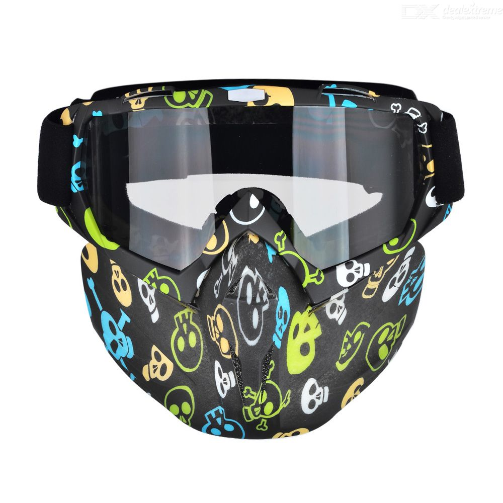 Outdoor-Motorcycle-Harley-Helmet-Goggles-Windproof-Open-Face-CS-Tactical-Cycling-Glasses-Mask