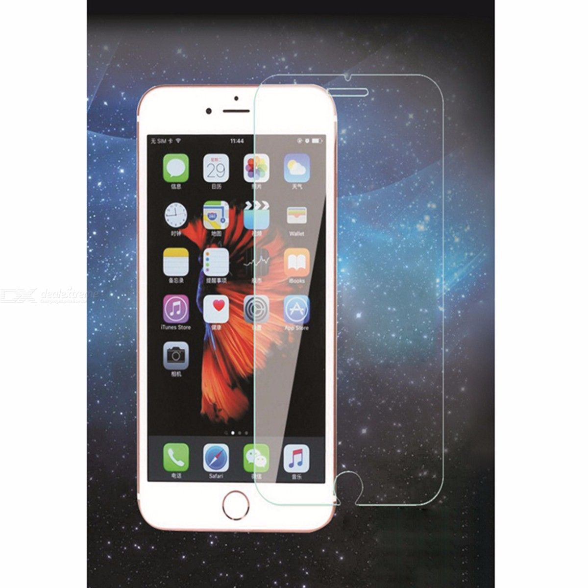 Mobile Phone Tempered Glass Screen Protector Front Film For IPHONE 6S - Transparent