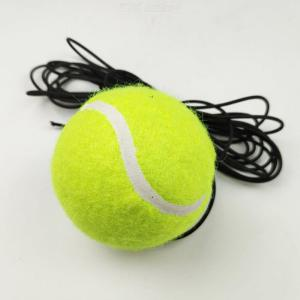 Elastic Rubber Band Tennis Balls With Belt Line Training Ball To Improve Your Skills