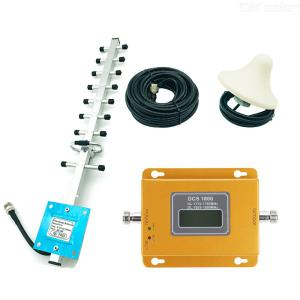 DCS 1800MHz Cell Phone Signal Booster, Cell Signal Repeater Amplifier Kit