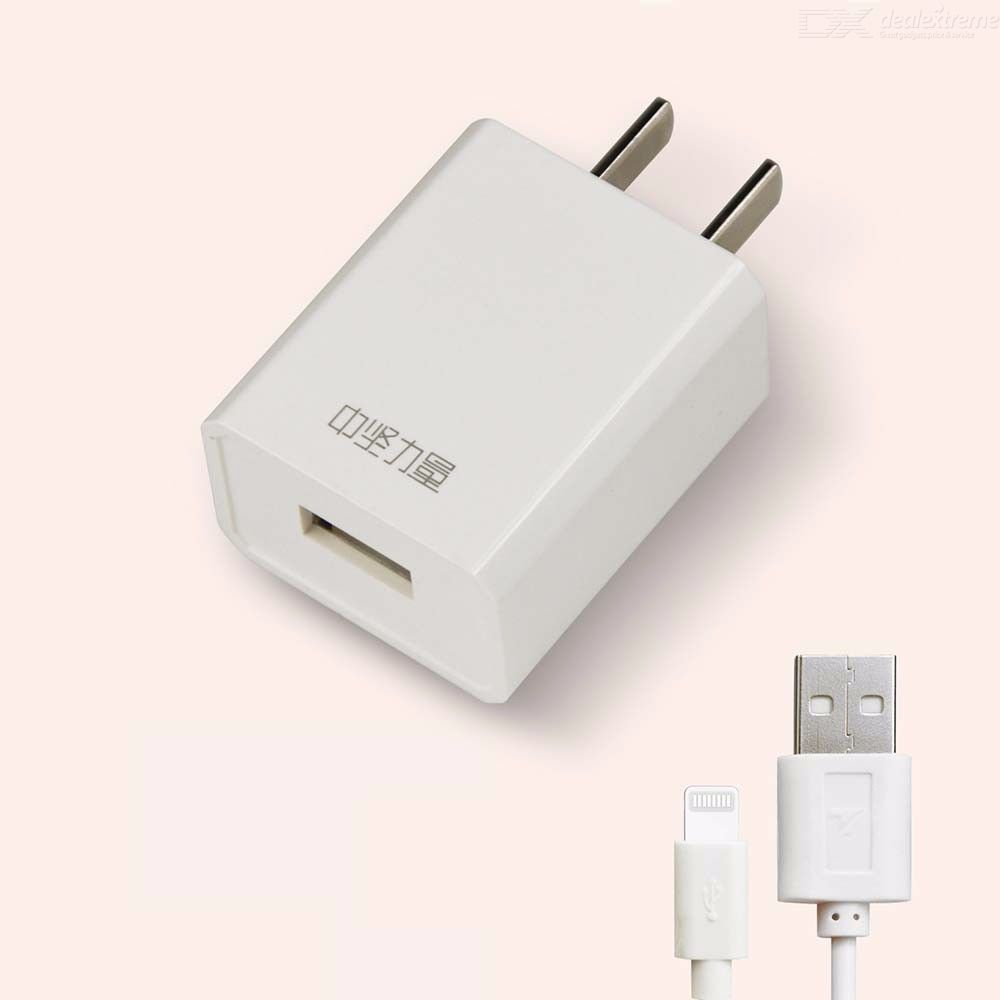 TECHFUERZA 2-in-1 2.1A Charging Kit, Fast Charger And Charging Cord