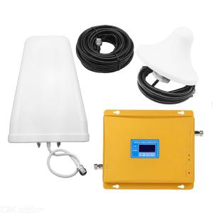 GSM/CDMA 900MHz 2100MHz Dual-band Cell Phone Signal Booster, 2G/3G Cell Signal Repeater Amplifier Kit